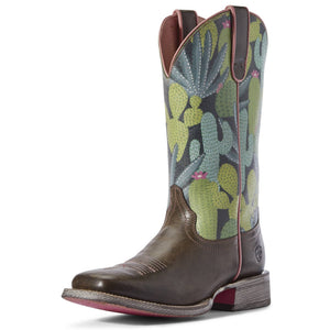 Ariat | Women's Circuit Savanna Desert Taupe/Navy Cactus