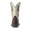 Ariat | Kid's Cowboy Venttek Cognac Candy/Cantle Cream - Outback Traders Australia