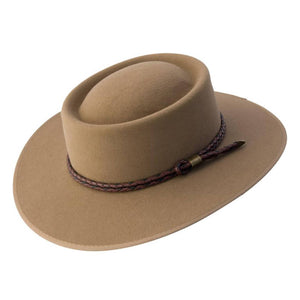 Statesman Hats | Premium Fur Felt | Red Dust | Front | Outback Traders Australia