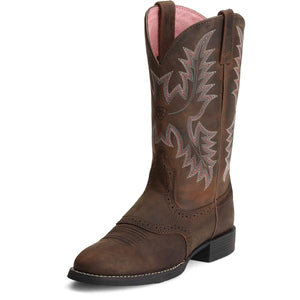 Ariat Boots | Women's Western Cowgirl | Heritage Stockman | Front | Outback Traders Australia