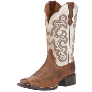 Ariat | Women's Quickdraw Distressed White