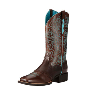 Ariat | Women's Round Up Remuda Naturally Dark Brown - Outback Traders Australia