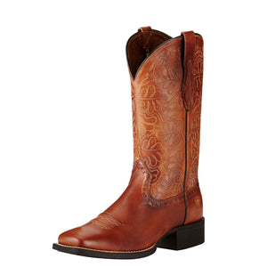 Ariat Boots | Women's Western Cowgirl | Round Up Remuda | Front | Outback Traders Australia