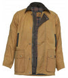 Burke & Wills Men's Darwin Oilskin Jacket Sand