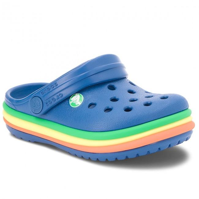 Crocs Rainbow Band Kids Blue Jean Incaltaminte Crocs