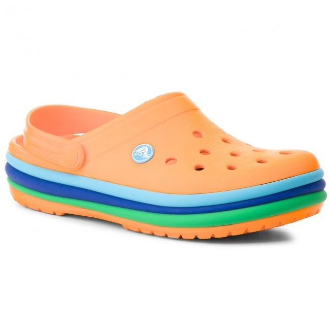 Crocs Rainbow Band Kids Orange Incaltaminte Crocs