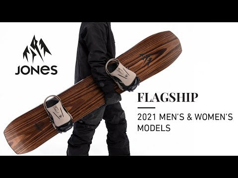 Placa Snowboard Ultra Flagship 162W 2021 Snowboard Ski Jones