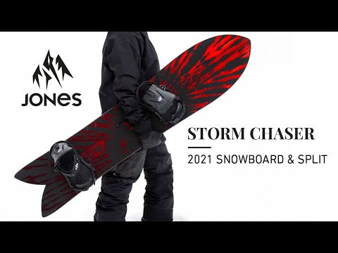 Placa Snowboard Jones Storm Chaser 152 Snowboard Ski Jones