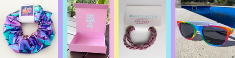 owlete active accessories for girls who love to go the gym prepared and ready to work