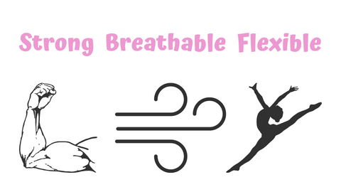 breathable flexible strong activewear for kids