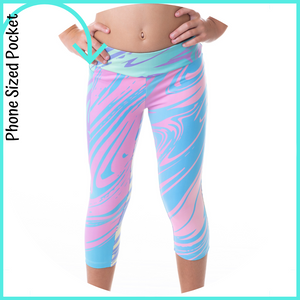 owlete active girls running tights gymnastic leggings cheer leading sportswear for girls