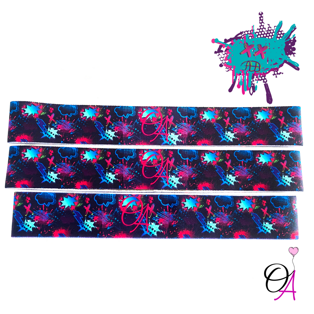 Graffiti Art Headband