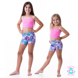 owlete active age appropriate fun vibrant shorts with pocket and better body coverage for cheer dance gymnastics crossfit gymwear and play