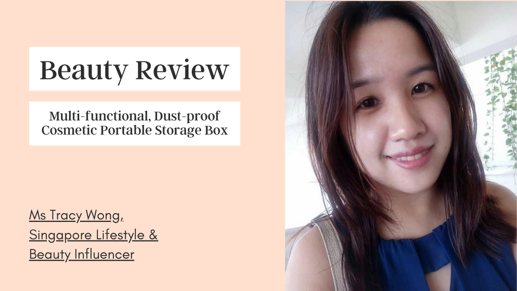 Beauty Review: Multi-Functional Dust-Proof Cosmetic Portable Storage Box