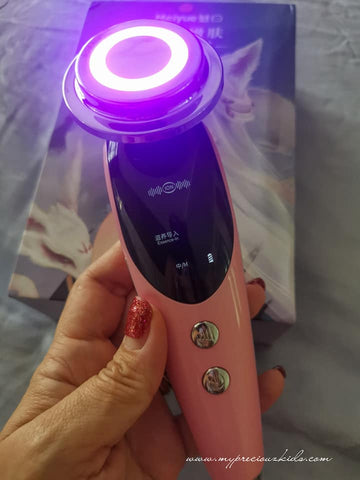 Anti-Ageing Skin Lifting RF & EMS Beauty LED Photon Home Beauty Handheld Device