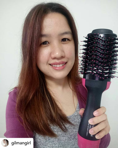 4-in-1 Multi-functional Negative Ions Hot Brush