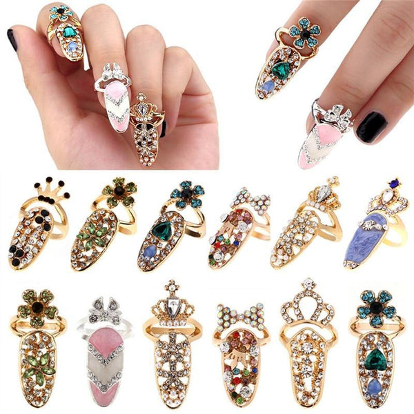 Diamond bling bling nail covers