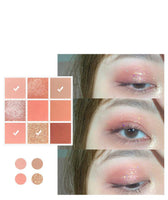Mesmerizing Eyes 9 Colours Eyeshadow Palette Matte Shimmer