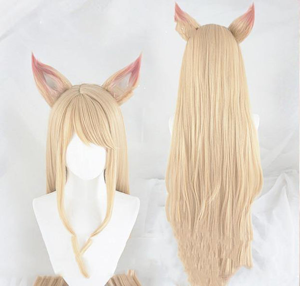 League of Legends raccoon ears cosplay wig - thefreshdailies