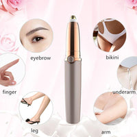 Mini Electric Eyebrow Hair Trimmer Hair Removal Beauty Tool