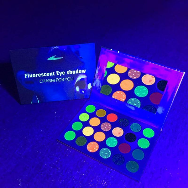 VERONNI Aurora Glow In The Dark Eyeshadow Neon Palette