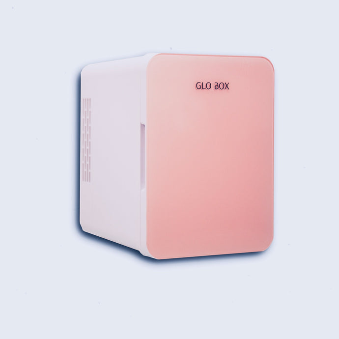GLO BOX-PINK SKINCARE FRIDGE
