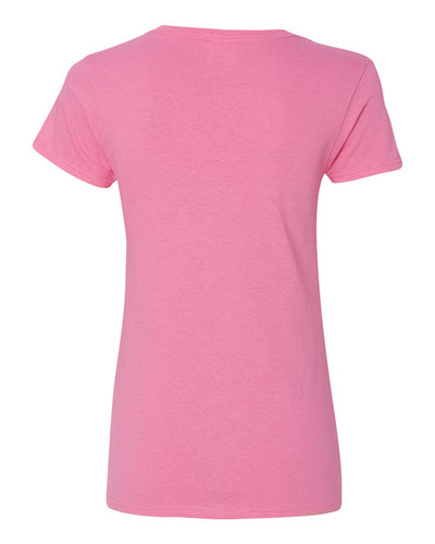 Gildan Heavy Cotton™ Women's V-Neck T-Shirt - 5V00L