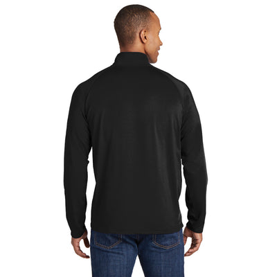 Sport-Tek Men's Sport-Wick® Stretch 1/2-Zip Pullover - ST850
