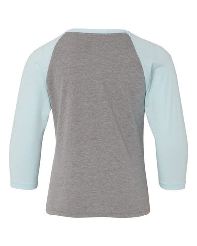 Next Level Youth CVC Three-Quarter Sleeve Raglan - 3352