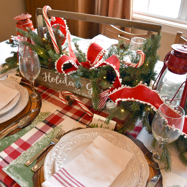 Woodland Holiday Table