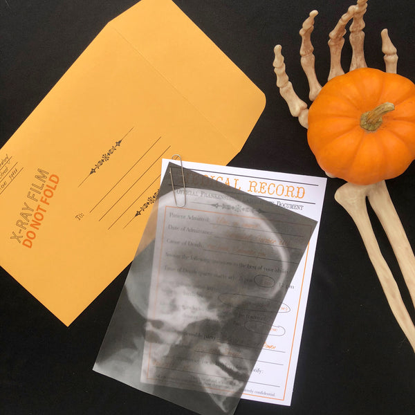 Halloween X-Ray Invitation
