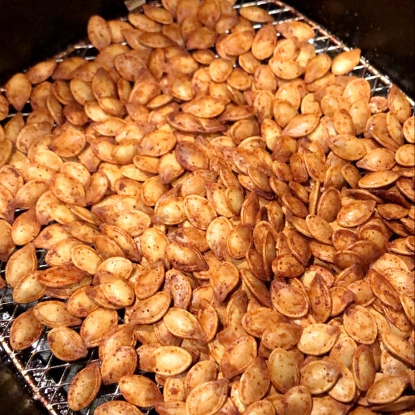 Air Fryer Roasted Pumpkin Seeds