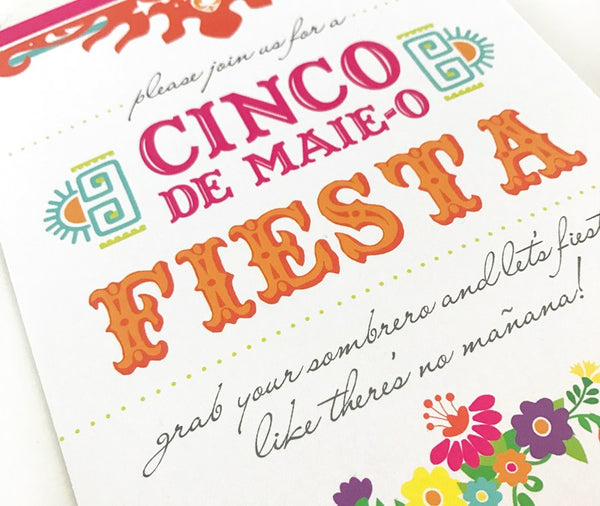 Cinco de Mayo Custom Invitations