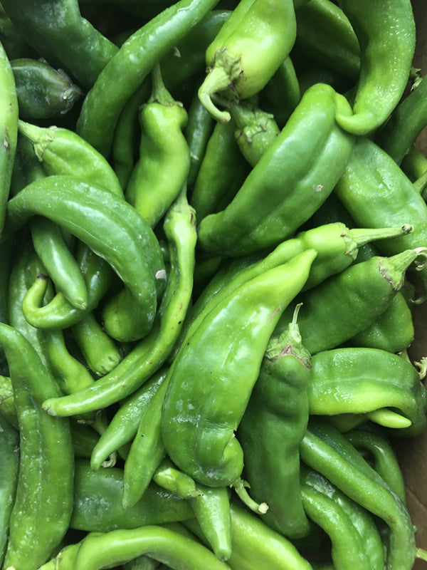 Freezing Hatch Green Chiles