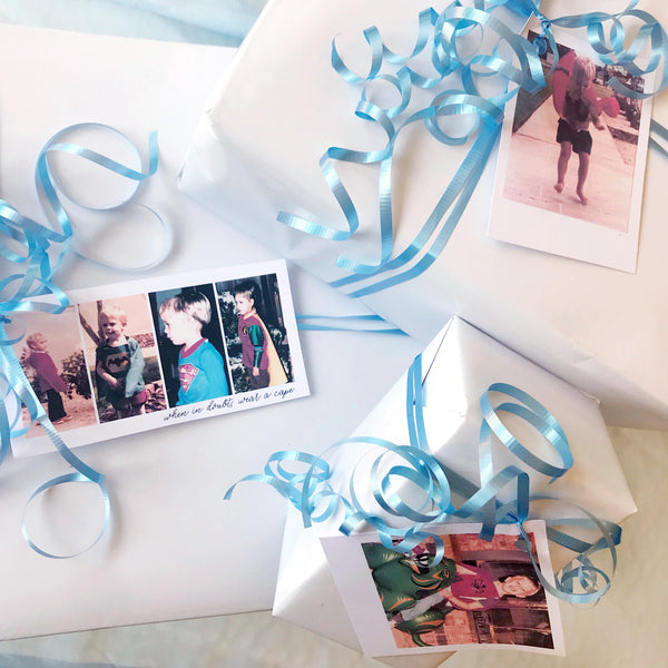 Photo Gift Tag Idea