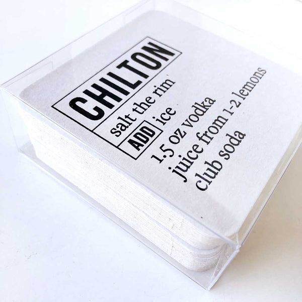 chilton coasters on barquegifts.com