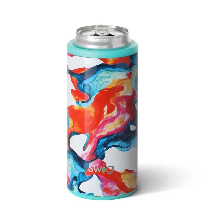 patterned skinny can cooler on barquegifts.com