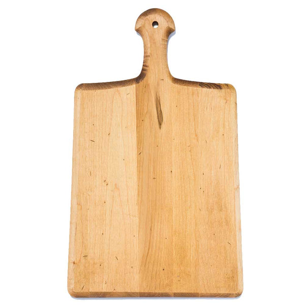 "17.75"" Maple Artisan Paddle Serving Board"