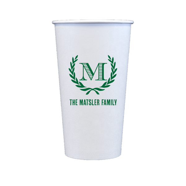 Custom Paper Cups (20 oz)