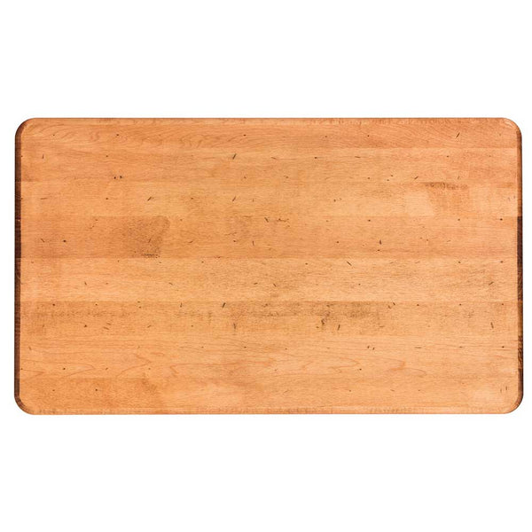 XL maple serving board on barquegifts.com
