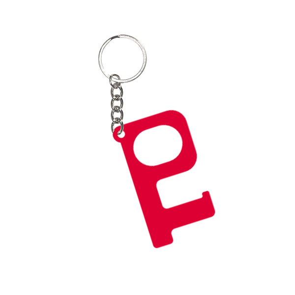 Red Hands-Free Acrylic Keychain