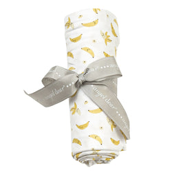 Bananas Swaddle Blanket at barquegifts.com