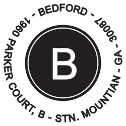 Bedford Self-Inking Stamp