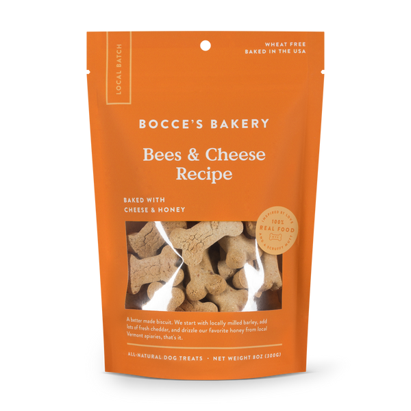 Bees and Cheese Dog Biscuits