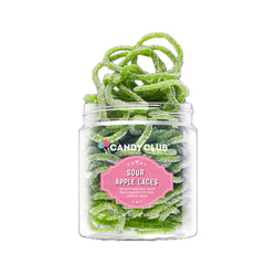 candy club sour apple laces on barquegifts.com