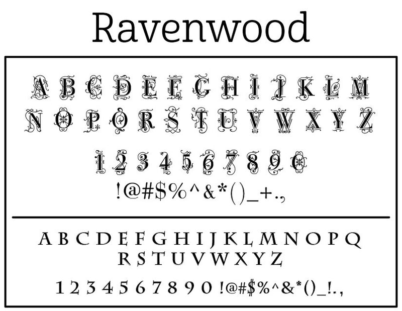Ravenwood Self-Inking Stamp