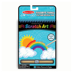 Favorite Things Scratch Art Pad
