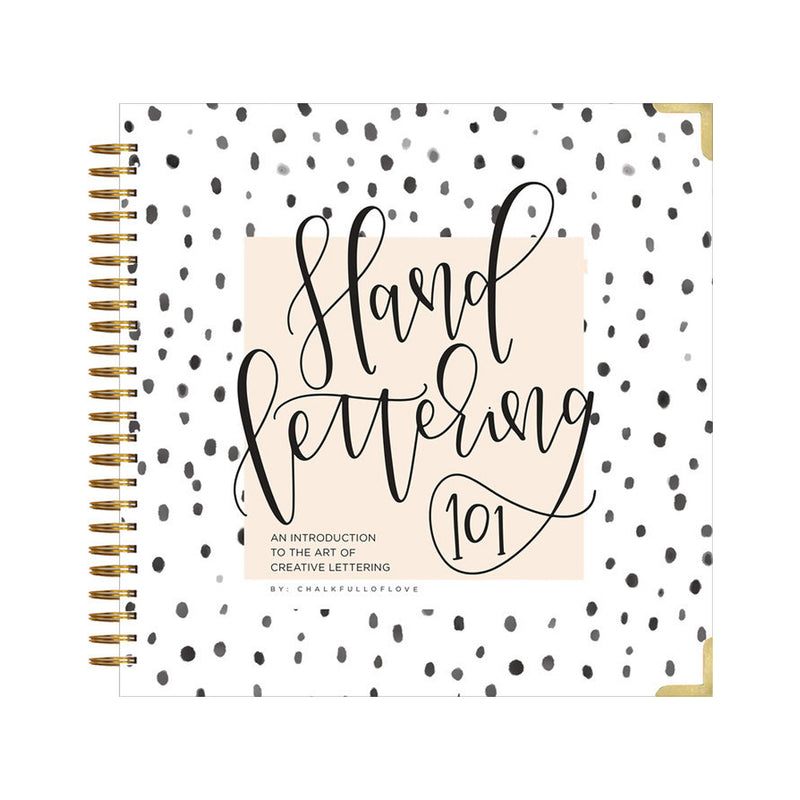 Hand Lettering 101 Book at barquegifts.com