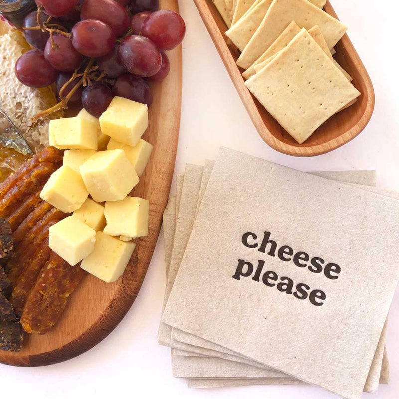 cheese please napkins on barquegifts.com
