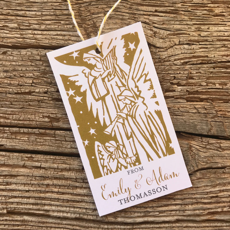 Angels Gift Tags
